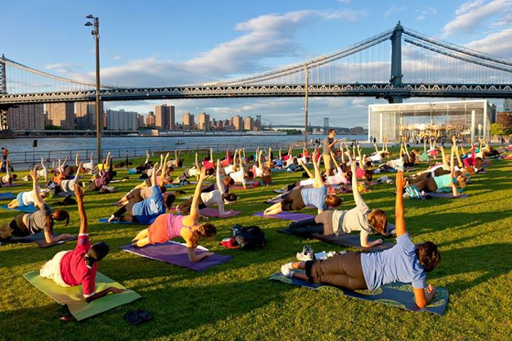 Free Outdoor Classes in NYC