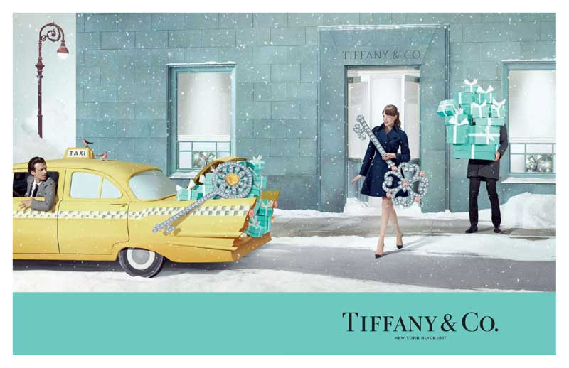 Holiday together with Tiffany