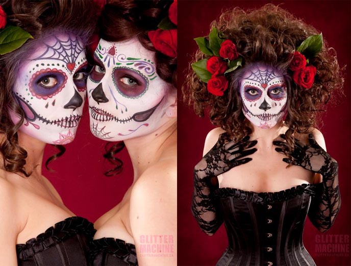 halloween in mexico day of the dead. Black Bedroom Furniture Sets. Home Design Ideas