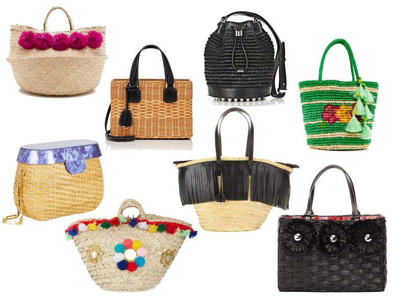 4 Straw Bags that Everyone Should have this Summer